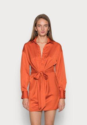 SYD & ELL TIE DRESS - Cocktail dress / Party dress - orange