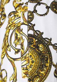 Versace Jeans Couture - PANTS - Tracksuit bottoms - white/gold - 5