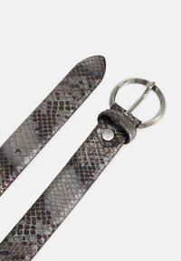Vanzetti - Belt - dark brown gun metal - 1