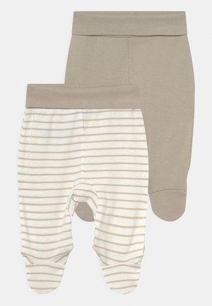 2 PACK UNISEX - Pantalones - off-white
