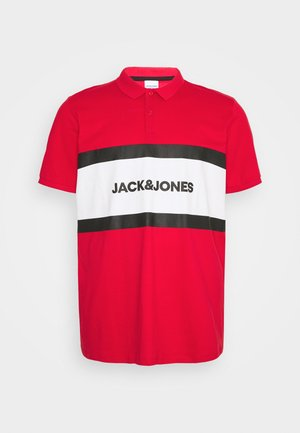 JJSHAKE  - Polo shirt - true red