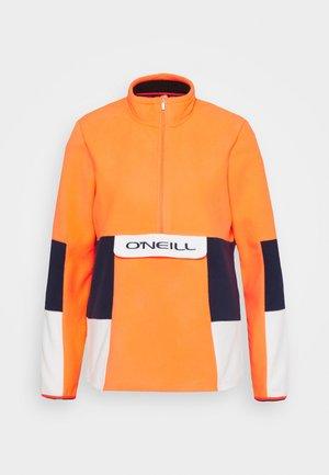 O'RIGINALS  - Fleece jumper - fiery coral