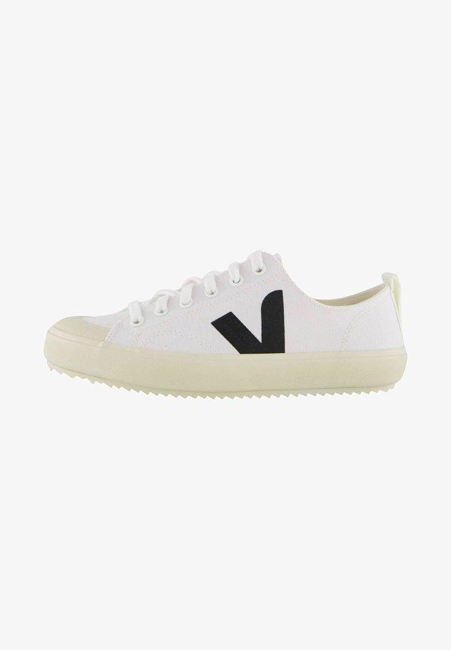 NOVA - Sneakersy niskie - weiss / schwarz
