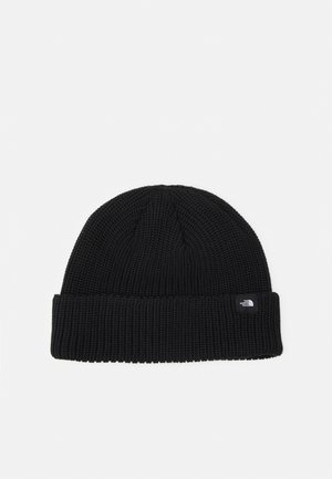 FISHERMAN BEANIE UNISEX - Lue - black