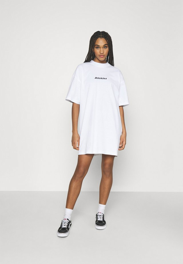 LORETTO DRESS - Sukienka z dżerseju - white