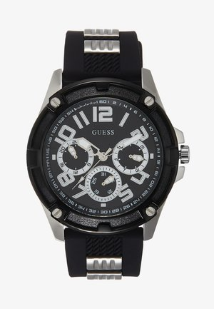 MENS SPORT MULTIFUNCTION  - Kronografklockor - black/silver-coloured
