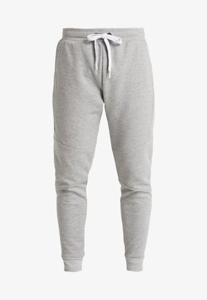 MATU BASIC CUFFED PANT - Tracksuit bottoms - light grey