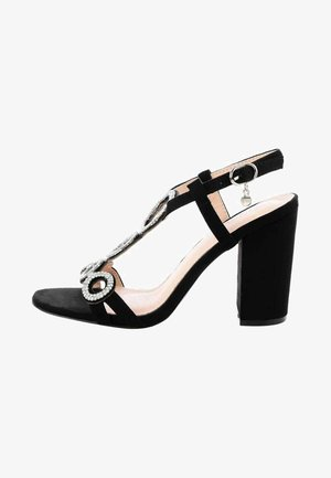 FAGGE - High heeled sandals - black