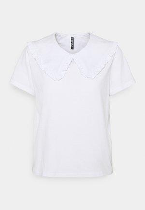 PCANIKA TEE - T-shirt print - bright white