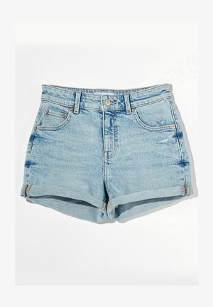 Denim shorts - blue denim