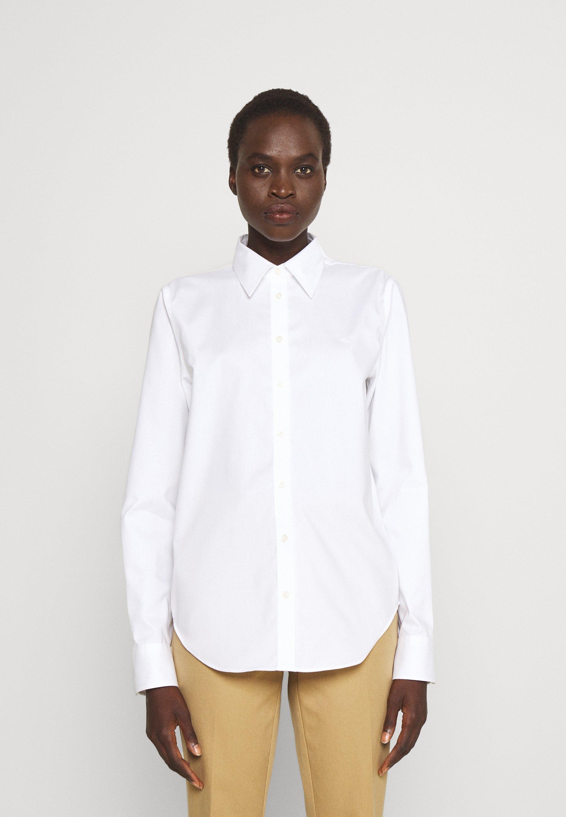 Women AARON-LONG SLEEVE-SHIRT - Button-down blouse