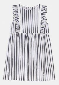 Twin & Chic - MARIEL - Cocktail dress / Party dress - blue/white - 0
