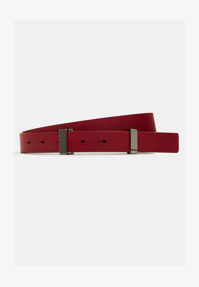 FASHION - Belt - bordeaux red