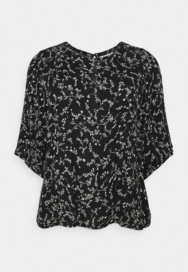 KCSAVY BLOUSE - Blouse - black/chalk