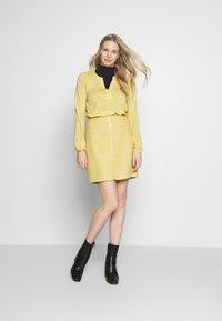 Esprit - A-line skirt - yellow - 1