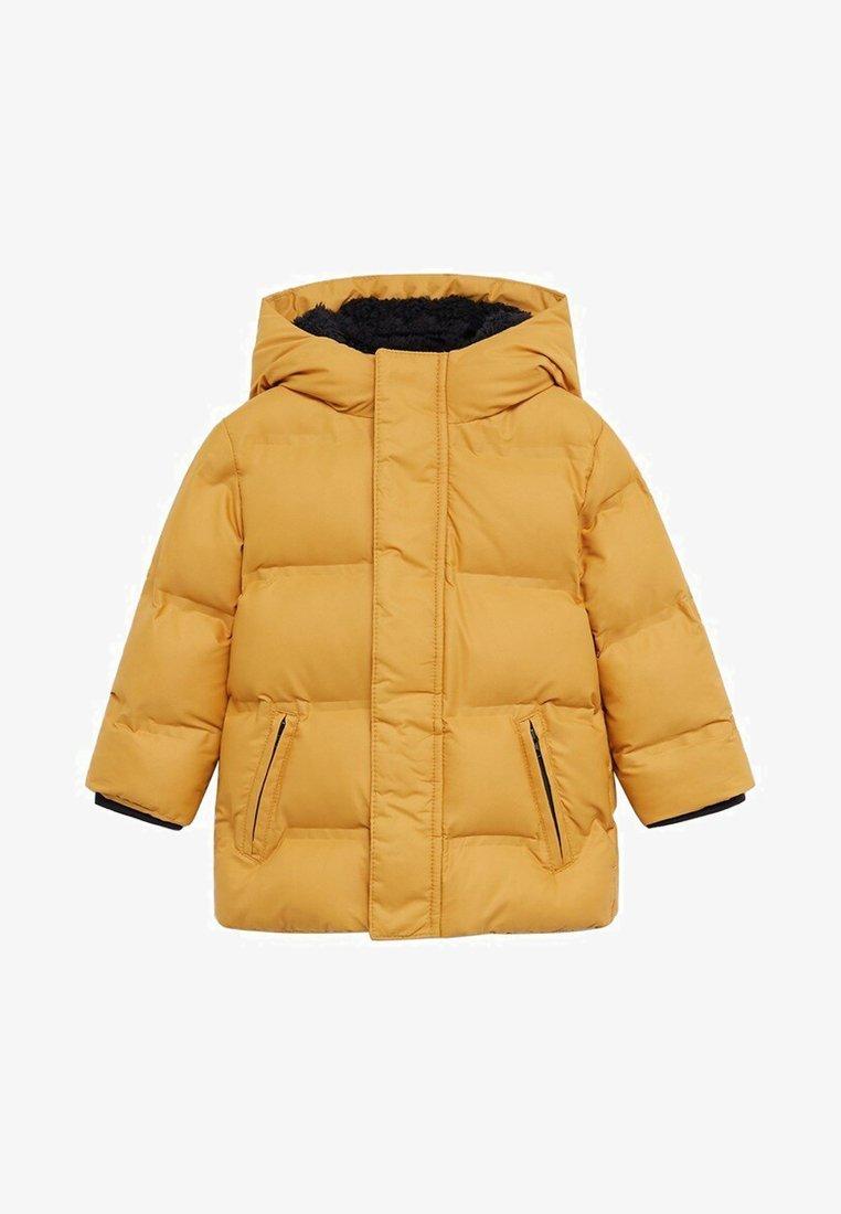 Mango - BROOKLYN - Płaszcz zimowy - mostarda