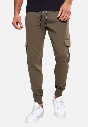 STEFAN - Pantalon de survêtement - khaki