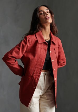 EDEN  - Summer jacket - rosewood