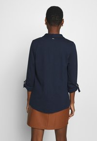 TOM TAILOR DENIM - WITH TURN UP - Blazer - real navy blue - 2
