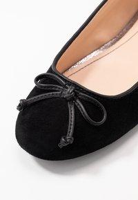 Esprit - ALYA LEA BOW - Ballet pumps - black - 2