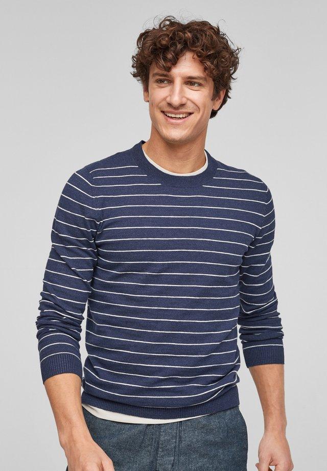 Trui - blue stripes