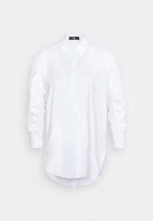 CLEMANDE FANCY SLEEVE BLOUSE - Košile - white