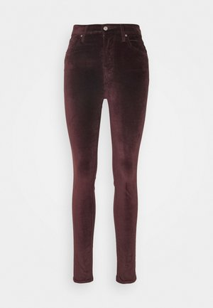 721 HIGH RISE SKINNY - Jeans Skinny - bordeaux