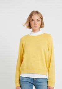 J.CREW - MALIBU TERRY POCKET - Sweatshirt - rich gold - 0
