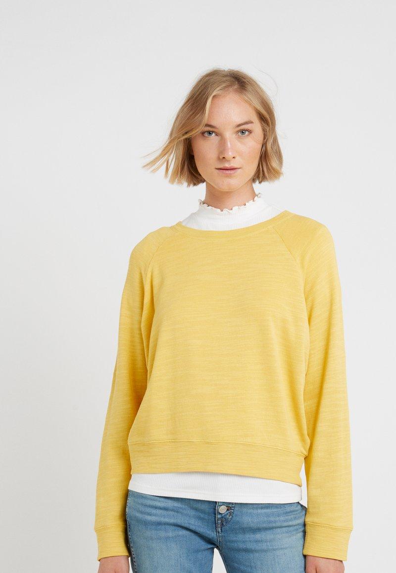 J.CREW - MALIBU TERRY POCKET - Sweatshirt - rich gold