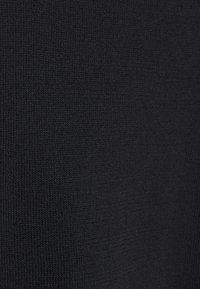 Dorothy Perkins - BLACK PUFF SLEEVE CREW NECK - Jumper - black - 2