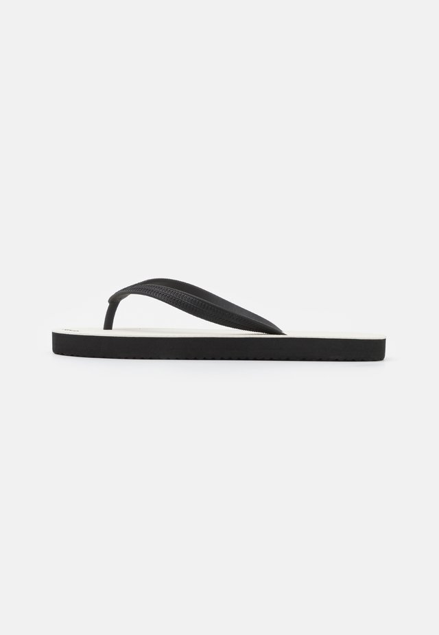 RETRO - Flip Flops - black