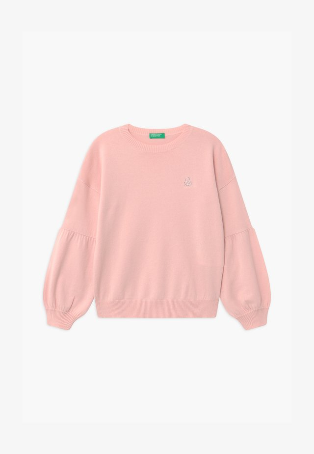 BASIC GIRL - Strikkegenser - light pink