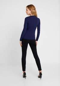 Guess - ICON TEE - Long sleeved top - blue jam - 2