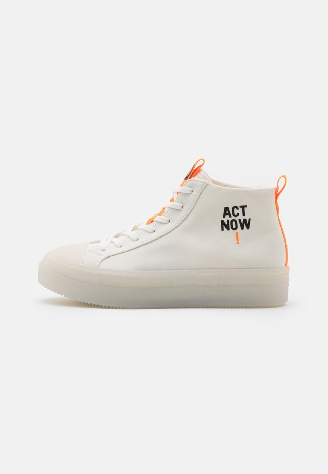 COOL - Sneakersy wysokie - offwhite