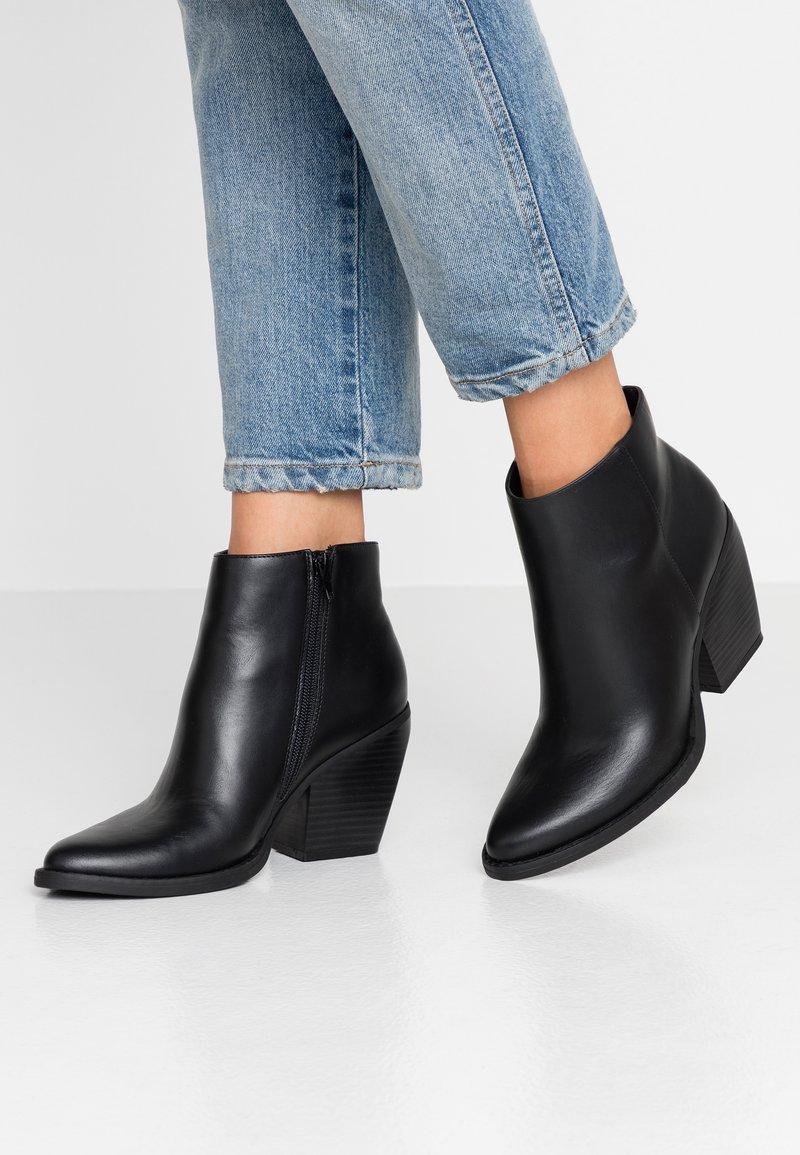 Madden Girl - KLICCK - High heeled ankle boots - black