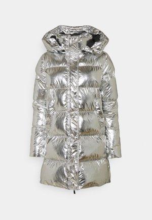 ILLICA IMBOTTITO TELA SPECCHIO - Winter coat - silver