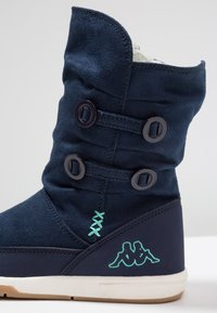 Kappa - Winter boots - navy/mint - 2