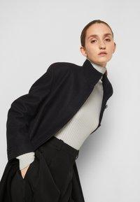 MM6 Maison Margiela - COAT - Classic coat - black - 5