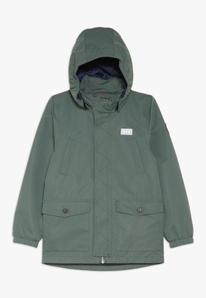 JOSHUA JACKET - Chaqueta Hard shell - dark green