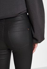 JDY - JDYNEWTHUNDER HIGH - Pantalones - black - 4