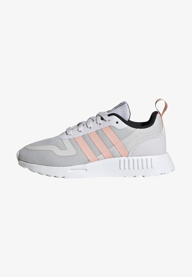 SMOOTH RUNNER SHOES - Trainers - grey one/glow pink/core black