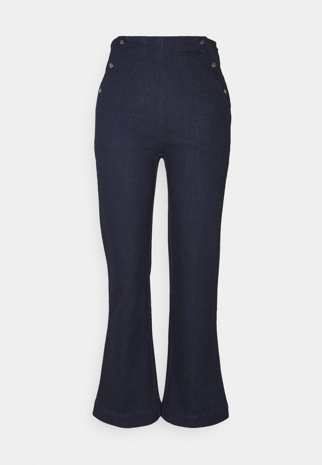 NICOL - Jeans bootcut - midnight navy