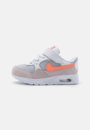 AIR MAX SC UNISEX - Sneakersy niskie - white/crimson bliss/light violet