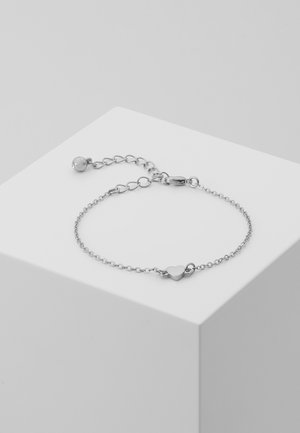 TINY HEART BRACELET - Bracelet - silver-coloured
