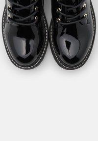 River Island Wide Fit - Platform ankle boots - black - 5