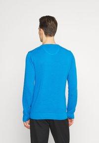 GANT - C NECK - Stickad tröja - clear blue - 2