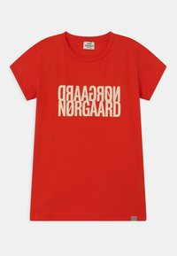 Mads Nørgaard - TUVINA UNISEX - T-shirts print - fiery red - 0