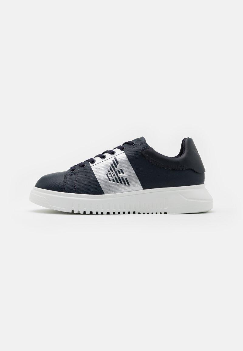 Emporio Armani - Sneaker low - blue navy/silver
