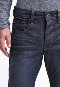 G-Star - 3301 STRAIGHT - Jeans Straight Leg - hydrite denim - 4