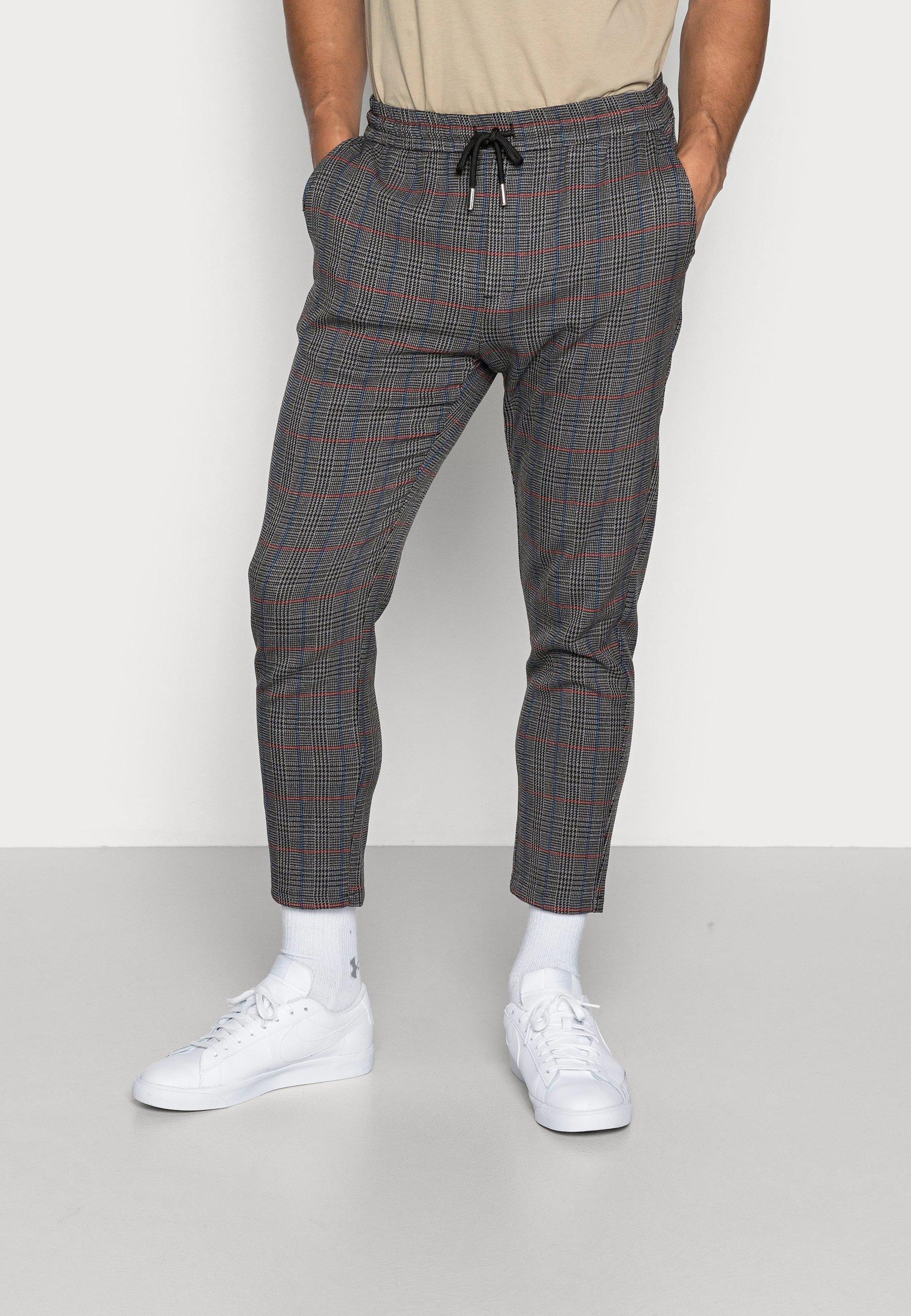 Uomo ONSLINUS CHECK PANT  - Pantaloni